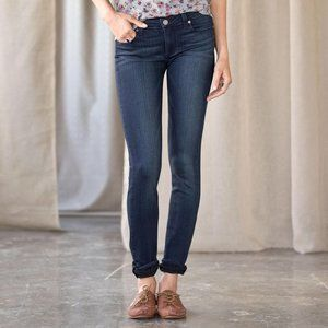 PAIGE Skyline Straight Indigo Midlake Wash Denim